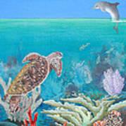 Underwater Glory Art Print