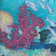 Underwater Splendor I Print by Denise Hoag