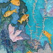 Underwater Splendor II Art Print
