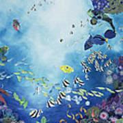 Underwater World IIi Art Print