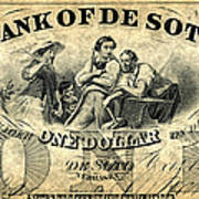 Union Banknote, 1863 Art Print