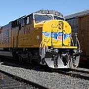 Union Pacific Locomotive Trains . 5d18821 Art Print