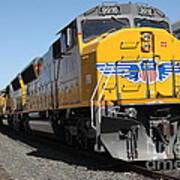 Union Pacific Locomotive Trains . 5d18824 Art Print