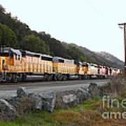 Union Pacific Locomotive Trains . 7d10564 Art Print