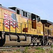 Union Pacific Train Art Print