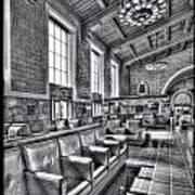 Union Station L.a. Seats 1 Art Print