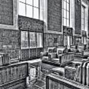 Union Station L.a. Seats 2 Art Print