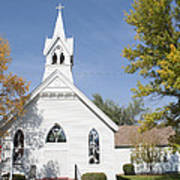 United Methodist Church Townsend Mt Art Print