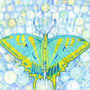 Unity Butterfly Art Print