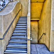 Up Stairs Down Stairs Art Print