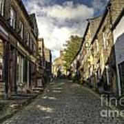 Uphill At Haworth Art Print