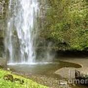 Upper Cascade Pool Multnomah Falls Or Art Print