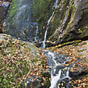 Upper Dark Hollow Falls In Shenandoah National Park Art Print by Pierre Leclerc Photography
