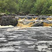 Upper Gabbro Falls Art Print