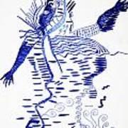 Upper Guinea Dance Art Print