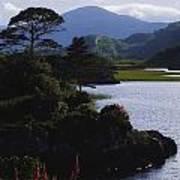 Upper Lake, Killarney, Co Kerry Art Print