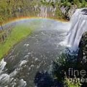 Upper Mesa Rainbow Art Print