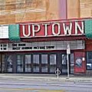 Uptown Theatre Art Print