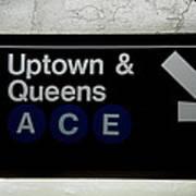 Uptown Train Art Print