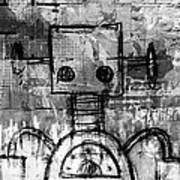 Urban Bot Art Print