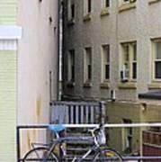 Urban Convergence Art Print
