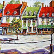 Urban Montreal Street By Prankearts Art Print