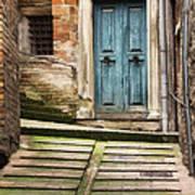 Urbino Door And Stairs Art Print