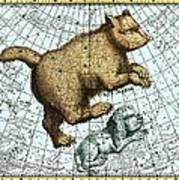 Ursa Major Constellation, Bode Star Atlas Art Print by Detlev Van Ravenswaay