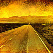 Us 50 - The Loneliest Road In America Art Print