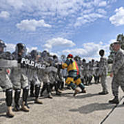 U.s. Air Force 86th Security Forces Print by Stocktrek Images