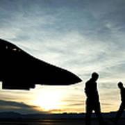 U.s. Air Force Airmen Prepare Art Print