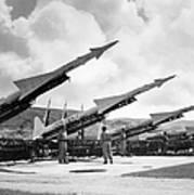 U.s. Army Missiles, C1965 Art Print