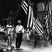 Us Civil Rights. Demonstrators Print by Everett