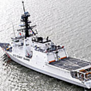 U.s. Coast Guard Cutter Stratton Art Print