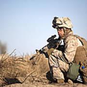 U.s. Navy Soldier Participates Art Print