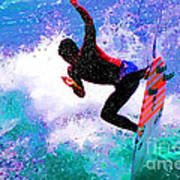 Us Open Of Surfing 2012 Art Print