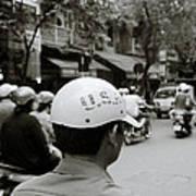 Usa And Hanoi Art Print