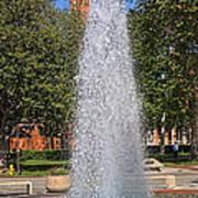 Usc's Fountain Art Print