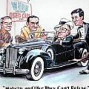 Used Car Salesmen Art Print