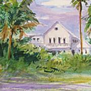 Usepa Island House Art Print
