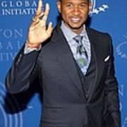 Usher In Attendance For 2009 Annual Art Print