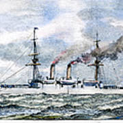 Uss Boston, 1890 Art Print