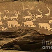 Utah Petroglyphs 1 Art Print