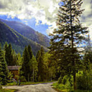Vail Country Road 1 Art Print