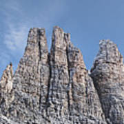 Vajolet Towers, Dolomites, Catinaccio Range Art Print