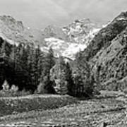 Val Di Cogne In The Italian Alps Art Print