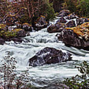 Valdolla River Art Print