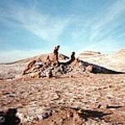 Valle De La Luna - Atacama Desert Northern  Art Print by Ronald Osborne