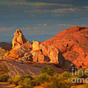 Valley Of Fire - Picturesque Desert Art Print by Christine Till