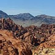 Valley Of Fire 2 Of 4 Art Print